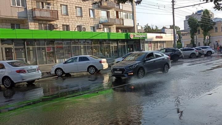 Сильные дожди и ветер ожидаются в Саратовской области