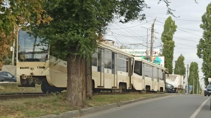 В Саратове прервано движение трамвая №3