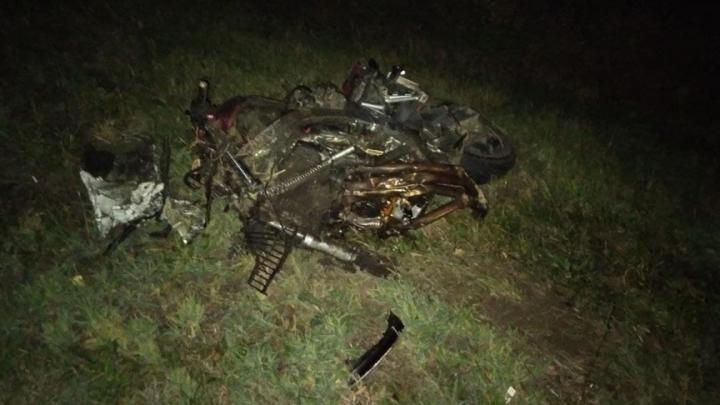 29-летний мотоциклист разбился в Хвалынском районе