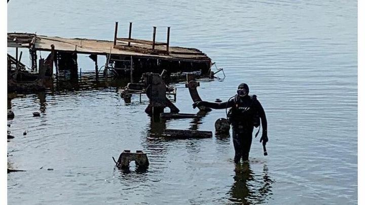 Со дна Волги вблизи будущей набережной планируют поднять все затопленные суда