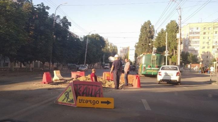 В центре Саратова на три дня закроют перекресток