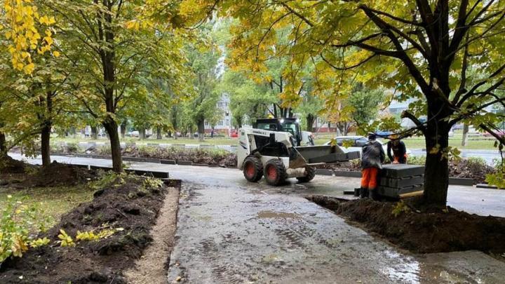 В Балаково началось благоустройство еще четырех общественных территорий