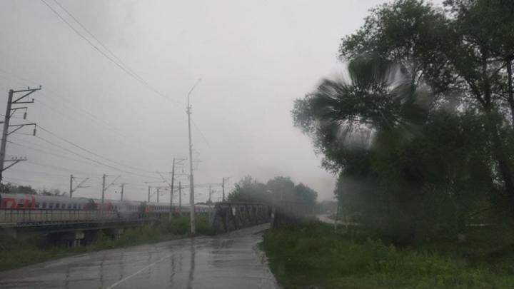 После обеда дождь в Саратове