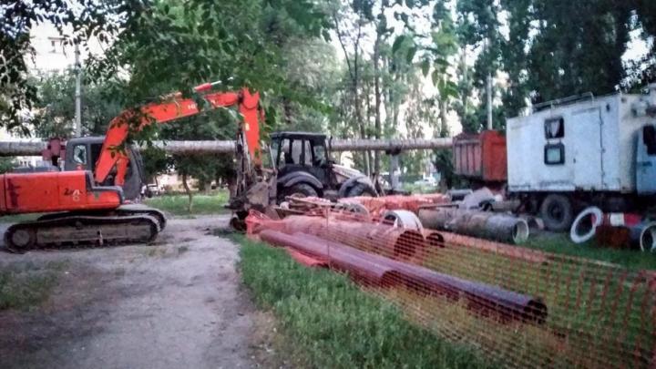 Масштабное отключение воды на сутки в Ленинском районе
