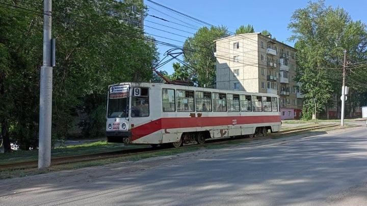 Около Рахова встали трамваи четырех маршрутов