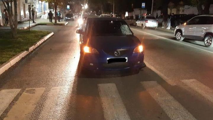 На Мясницкой Mazda насмерть сбила женщину| 18+