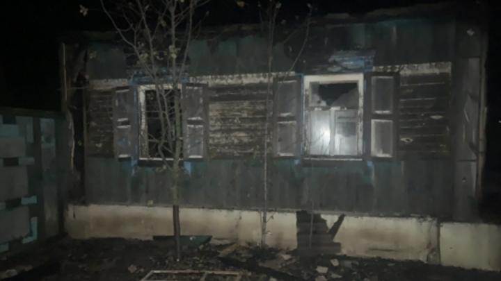 Мужчина и женщина сгорели в частном доме в Балашовском районе | 18+