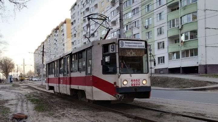 В Саратове не ходят трамваи четырех маршрутов