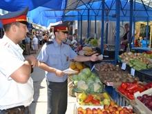В городе продолжаются проверки на городских рынках