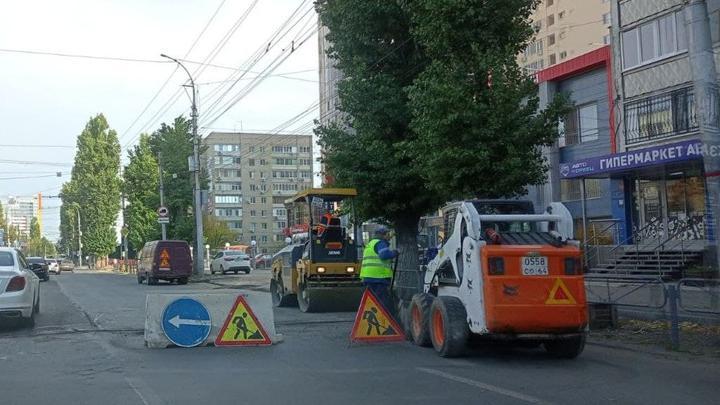 В Волжском районе отремонтируют тротуары еще на 13 улицах