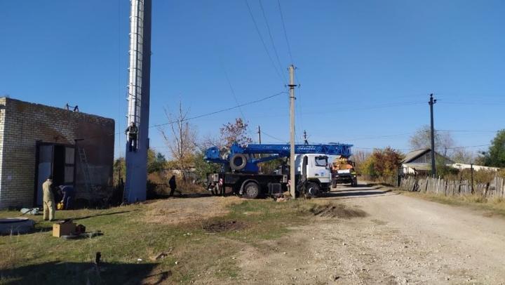 В селе Маянга установлена новая водонапорная башня