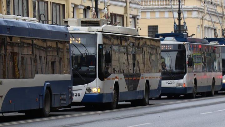 В Саратове прервано движение четырех трамвайных и трех троллейбусных маршрутов