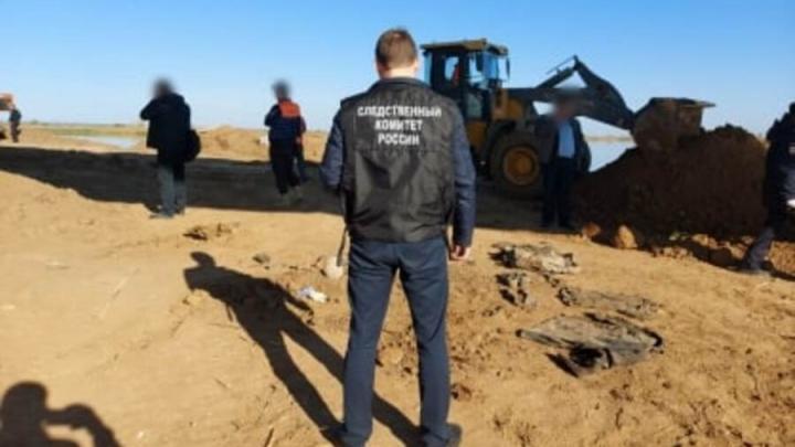 В Духовницком районе найдены человеческие останки