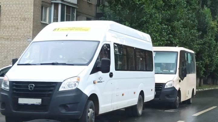 В Саратове 81-я маршрутка сбила женщину на 50 лет Октября