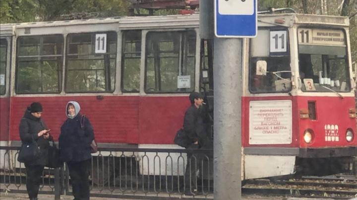 Прервано движение четырех трамвайных маршрутов
