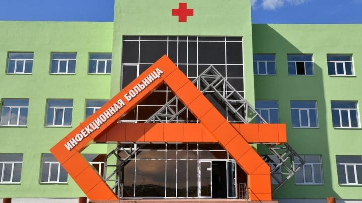 На подъезде к новой инфекционной больнице Саратова установят фонари