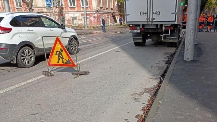 На три дня перекрыли улицу в Кировском районе