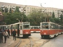Очевидцы: У Детского парка горит трамвай