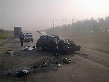 В ДТП на волгоградской трассе погибла семья начотдела ГУ МЧС