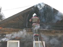 Два дома сгорели с интервалом в час