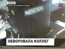 Федеральный канал обнародовал видео кражи на автомойке