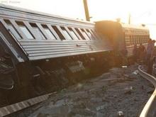 На подходе к станции Ртищево сошел с рельсов поезд