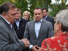 Олег Грищенко остался доволен результами благоустройства зеленых зон