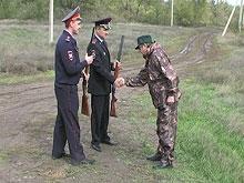 Лесники сдали в полицию чужие неисправные ружья