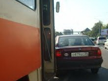 На ближайший час трамваи четырех маршрутов остановлены из-за аварии