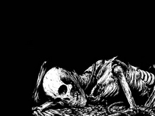 В подвале жилого дома нашли скелет