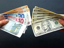 Евро начало падение из-за укрепления рубля