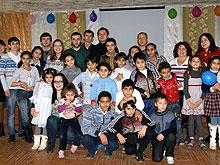 УФМС устроило праздник для детей беженцев