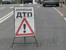 В Затоне образовалась пробка из-за ДТП