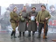 Саратовский патриотический клуб принял участие в реконструкции битвы за Сталинград