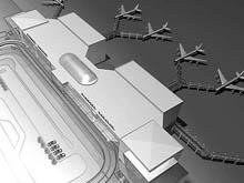 Губернатор и депутаты осмотрели стройку аэропорта в Сабуровке