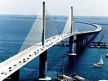 Опубликован график ограничения движения на мосту Саратов-Энгельс