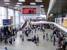 """На железнодорожном вокзале прошел фестиваль-конкурс """"Встречаем гостей со всех волостей"""""""