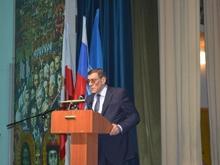 Разработчик Конституции РФ Борис Эбзеев встретился со студентами СГЮА