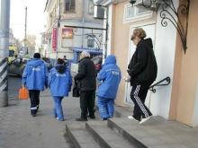 Энгельсский автобус разбил пенсионеру лицо боковым зеркалом