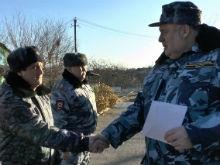 Сергей Аренин поздравил саратовцев, несущих службу в Чеченской республике