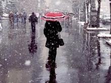 Погода в Саратове на 13 января. Снег при плюсовой температуре