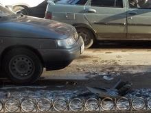 """Массовая авария """"закупорила"""" улицу Радищева"""