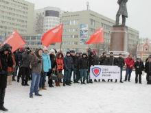 В Саратове прошел митинг в защиту ветерана ВОВ, названного обманщиком