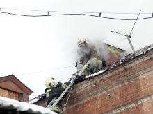 В Саратове из-за окурка снова горел памятник архитектуры