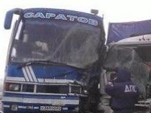 Два пассажирских автобуса попали в ДТП