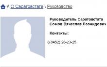Бывший сити-менеджер Сомов возглавил Саратовстат