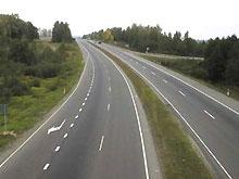 На дорогах области введены ограничения для грузовиков