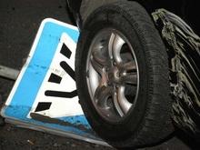 Водитель сбил  во дворе пятилетнюю девочку и скрылся