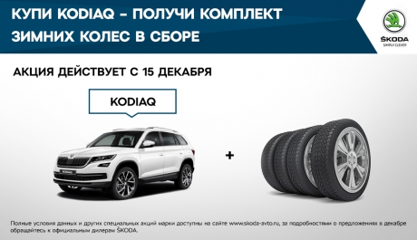 ДЦ КАРСАР предлагает воспользоваться специальными предложениями для покупателей ŠKODA в декабре