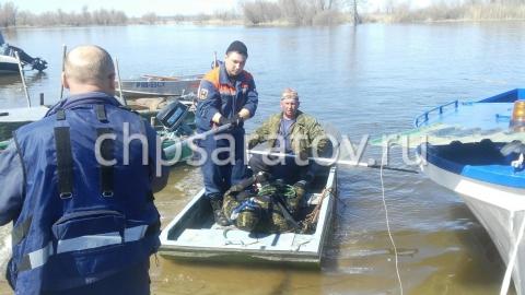 Спасатели нашли в Волге тело пропавшего дайвера